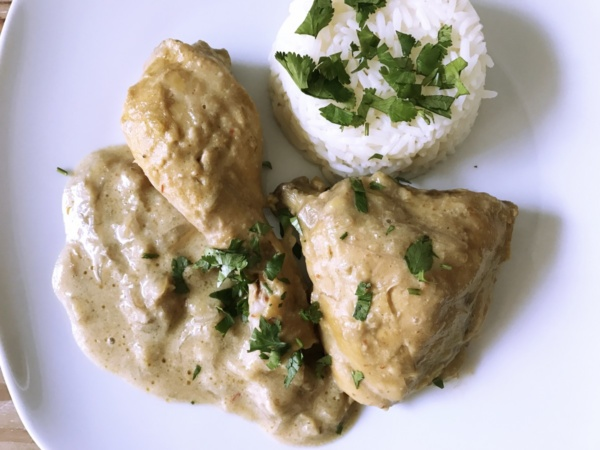 Poulet Curry Coco Banane