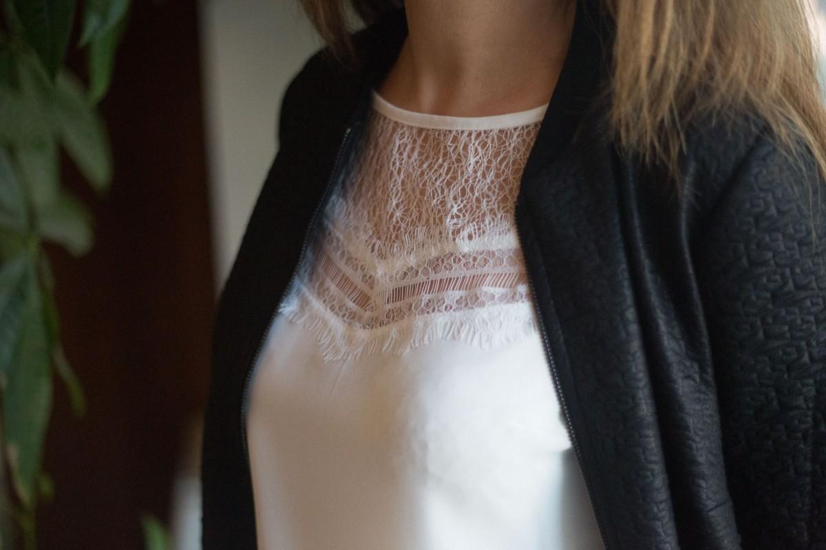 Bombers et blouse