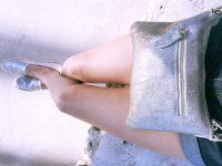 Les espadrilles argentées Blancheporte