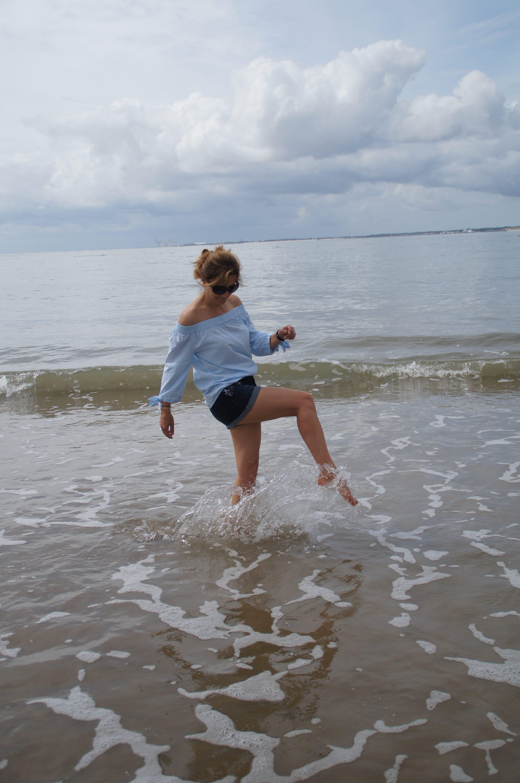 Retour de plage Blancheporte