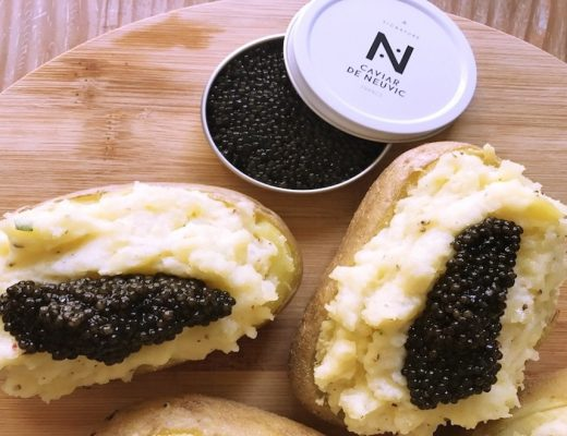 Pomme de terre en robe des champs au Caviar